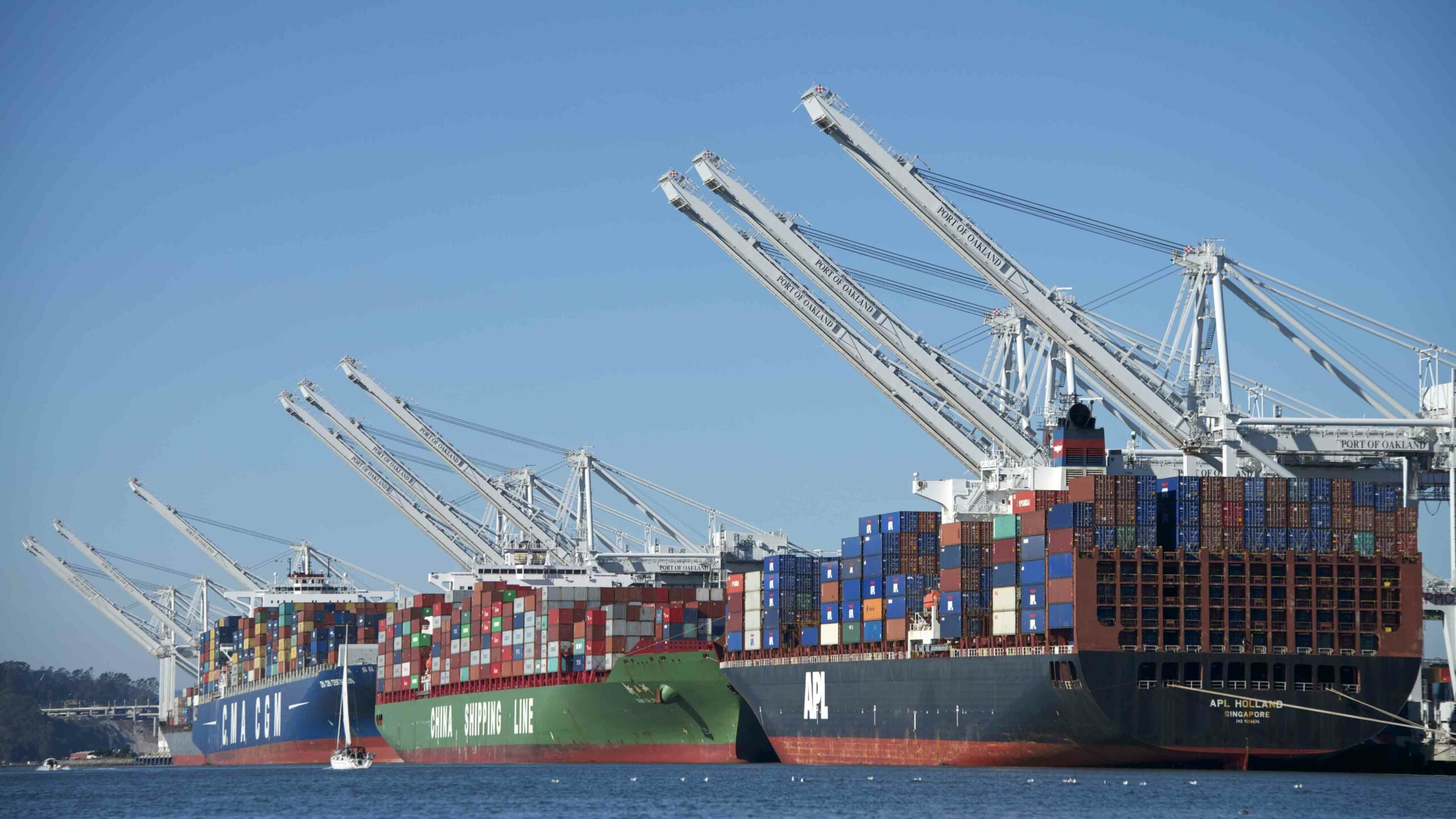 Another month, another record at the port of Los Angeles Apollo Cargo Alliance